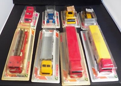Majorette Modellauto Konvolut (4) 80er/80s 200er/300er Series MIB MOC Collection