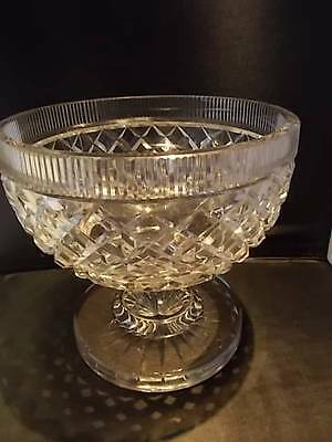Magnificent Period Masterpiece Antique WATERFORD GLASS Crystal Centre Bowl MINT