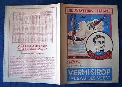 Protege Cahier Vermi Sirop > Les Aviateurs Celebres > Guynemer