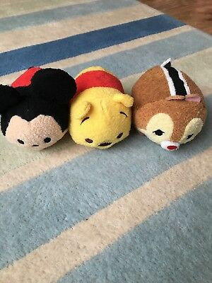 Disney Tsum Tsum Plush Mickey Winnie The Pooh Light Up Sound
