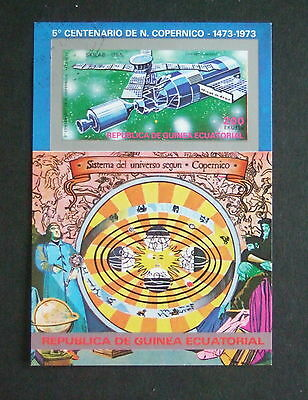 Equatorial Guinea 1973 Space Exploration Rocket  used MS miniature sheet used