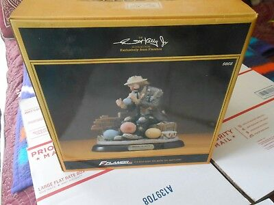 """Flambro Emmett Kelly Jr. Signature Collection """" Balloons For Sale Ii """" Figurine"""