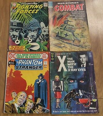 combat no 5 our fighting forces 71 the man with the x ray eyes phantom stranger