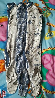 baby boys next sleepsuits 9-12 months