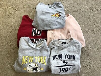 girls clothes jumper bundle 12-13 years