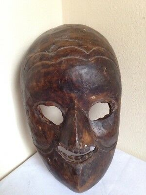 ANTIQUE 19th CENTURY AFRICAN DANMASK-BETE TRIBE-SUPERB EXAMPLE