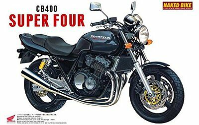 Aoshima  Naked Bike 09 1/12 Honda CB400 Super Four (42151) from Japan