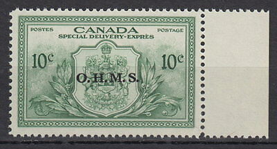 Canada #EO1 10¢ OHMS OFFICIAL SPECIAL DELIVERY MNH - D