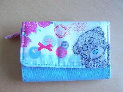 Me to You Tatty Teddy blue / pink  Coin Purse new no tags