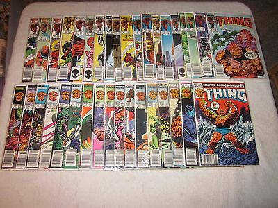 The Thing 1-36 Vf!!! 35 New Ms Marvel Nm!!!