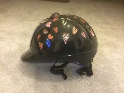 Bicycle Or Riding Hat, Fits 48cm To 54cm, Black