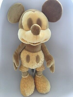 Gold Limited Edition Plush Mickey Mouse - February 2018