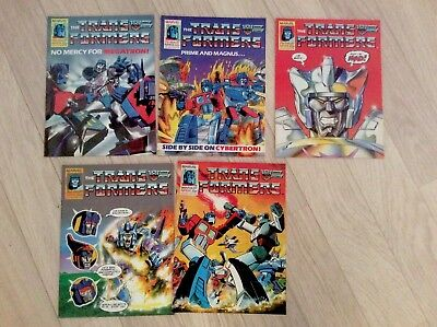 Transformers UK Comic Issues 100 - 105