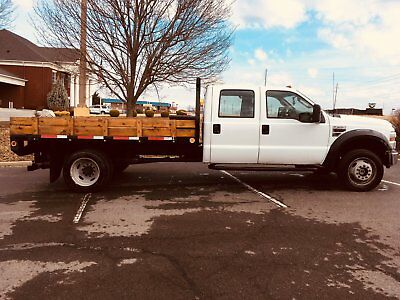 2008 Ford F-550 XL Ford F550 Super Duty 4X4 Crew Cab Flat Bed