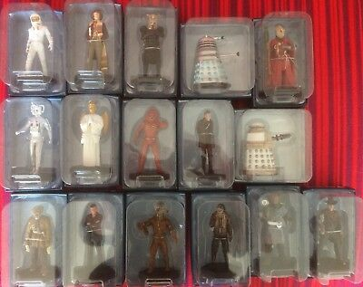 Eaglemoss Doctor Who Magazine & Figurine Collection Issues 16-31
