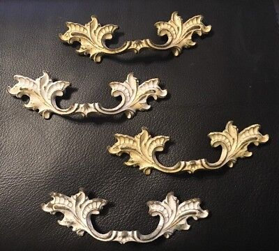 """Lot 4 French Provincial Drawer Handles 2.5"""" Centers"""
