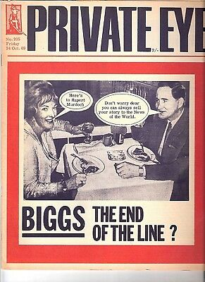 Private Eye Mag # 205 24 October 1969 Charmian & Ronnie Biggs Great Train Robber