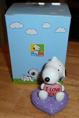 Westland Peanuts Collection Snoopy I Love You In Box #8609