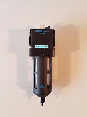 Vickers Pneumatic G1/2 Lubricator Filter with Manual Drain - LL28-C4-LK00