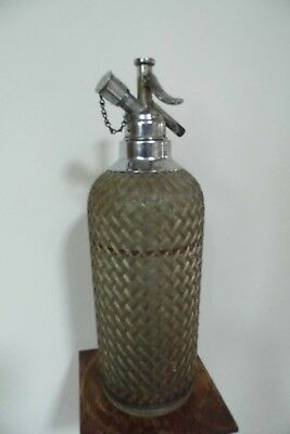 Art Deco SODA syphon Sparklets 1920's antique