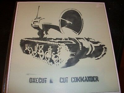 Onecut - Cut Commander 12 (Hombre) very rare BANKSY sleeve