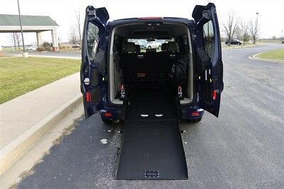 USED 2014 FORD TRANSIT CONNECT 5 Passenger + 1 Wheelchair Position  #190200k3