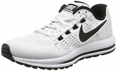 Nike Air Zoom Vomero 12 Women s Running Shoes White Black 863766-100 Size 7  - 7940fc7dc