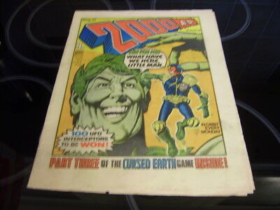 2000Ad Prog 77 - Rare 'banned' Issue