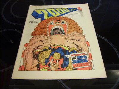 2000Ad Prog 72 - Rare 'banned' Issue