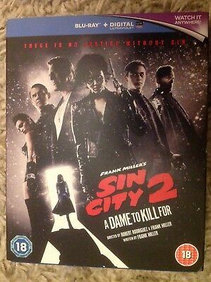 Sin City 2 A Dame to Kill For Blu-Ray only