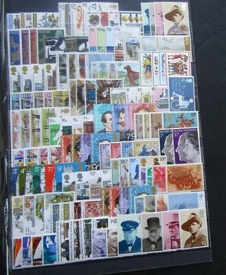 G.b - Fine Collection Of 50 Mnh Commemorative Sets - 1971/1979 - Pristine