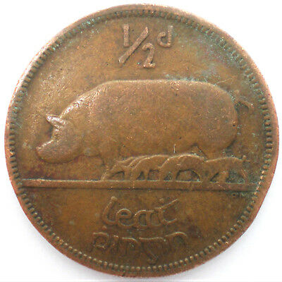 ½ Penny , 1942, Irland, 18/18/79