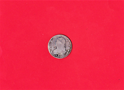 1818 Capped Bust Quarter,200 Years Old,very Rare
