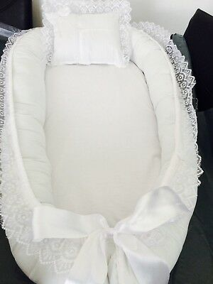 Baby Nest pod,removable Mattress , (handmade ) from 0-12 month