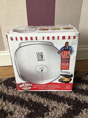 George Foreman Indoor Grill 3 portion (never used)