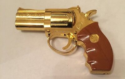 Limited Edition Gold Colour Gas Lighter With LED Torch