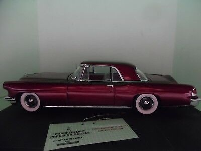Franklin Mint 1:24 scale 1956 Continental Mark II LE #775 of 1000
