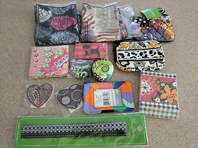 Vera Bradley-mixed lot of 12 items-nwt