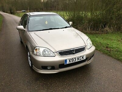 2000 Honda Civic VTI EM1 Coupe B16A2 B16 Dohc Vtec Gold Low Mileage