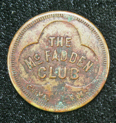 The McFadden Club, Chama, New Mexico, Good For 5-cents Token