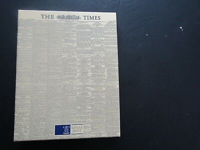 1953 Original Times Newspaper  For The Coronation - Boxed - Mint