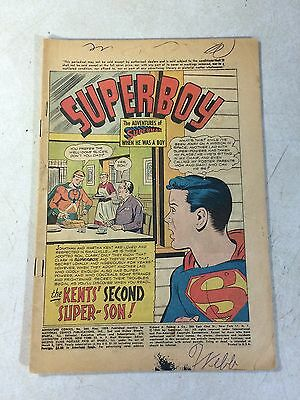 Adventure #260 Key Issue, Origin Aquaman, Superboy, Green Arrow, 1959!!