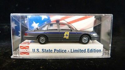 BUSCH US State Police MISSISSIPPI Ford Crown - 1/87 - Sammlermodell - in OVP