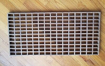 Vintage Wooden Floor Grate/Register