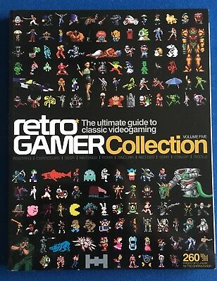 Retro Gamer Collection Volume 5 260 Pages VGC