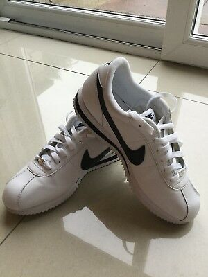 Mens Nike Cortez White Trainers Size Uk 8
