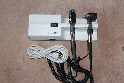 Welch Allyn 767 Otoscope/Opthalmoscope Set, PRISTINE
