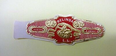 """For Sale: OLD COLLECTIBLE CIGAR BAND, """" BELINDA # 13"""", B160"""