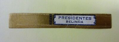 """For Sale: OLD COLLECTIBLE CIGAR BAND, """" BELINDA # 25"""", B172"""