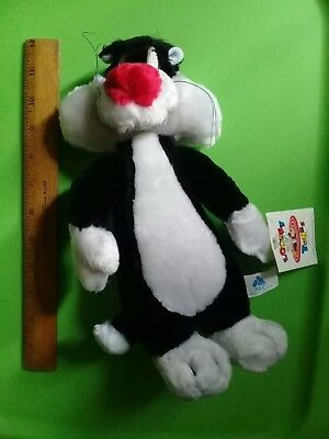 Sylvester the Cat 12' Plush Stuffed Toy Looney Tunes Tweety